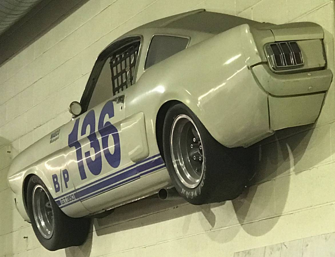 Crazy Craigslist find - sliced fastback wall art - Vintage Mustang ...
